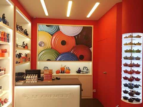 Creuset flagship Store, Infinity Mall, Mumbai