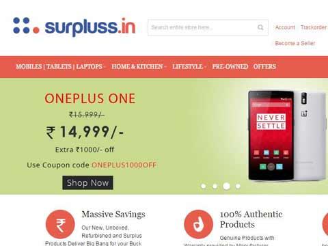 Surpluss.in starts its online Marketplace