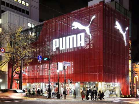 puma showroom in delhi
