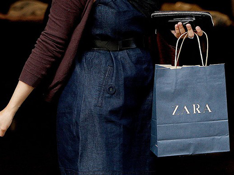 Zara rents space on high street