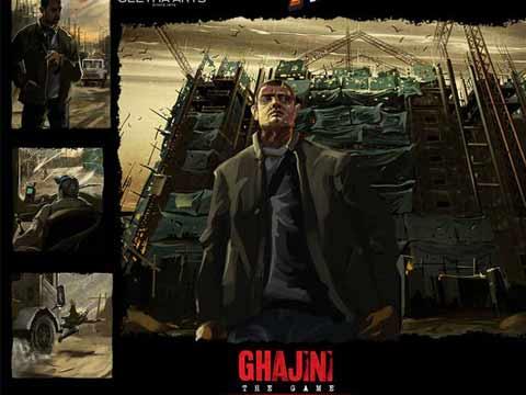 Ghajini mobile game