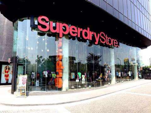 Superdry store in Bangaluru