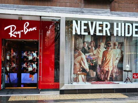 Ray-Ban fighting off counterfeits