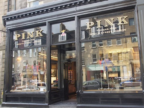How Thomas Pink improved the customer experience and sales?