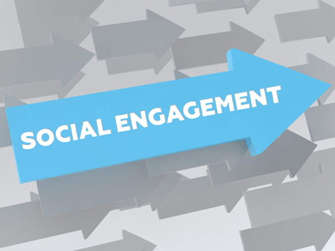 Social engagement in retail
