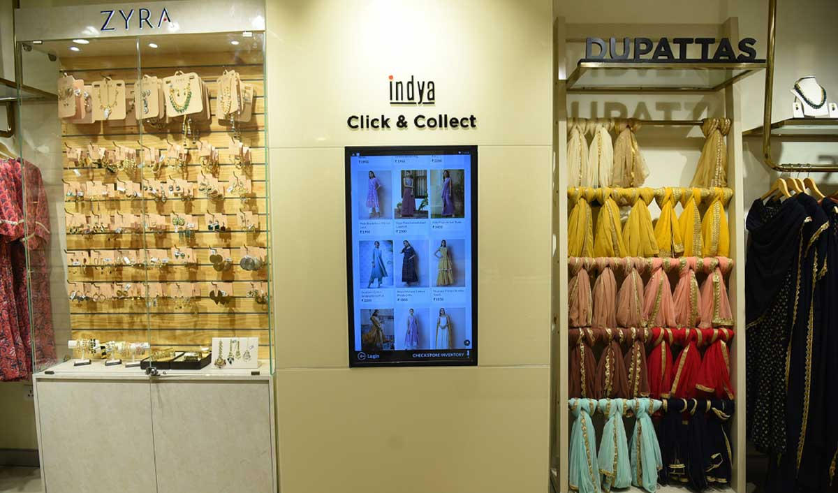 Indya opens its largest exclusive store in India