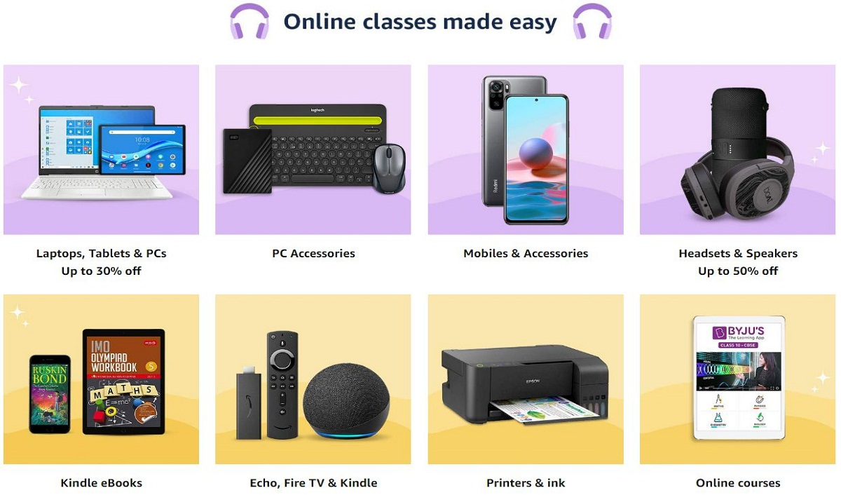 Amazon India Launches the 'School from Home' Store