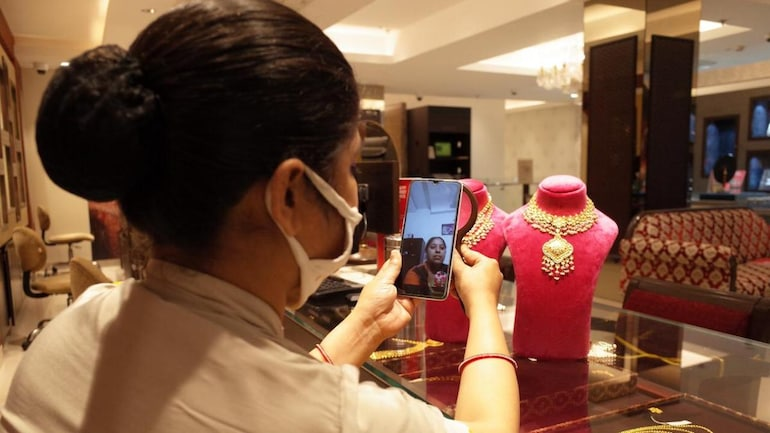 Jewellers are adopting the video calling feature to sell.