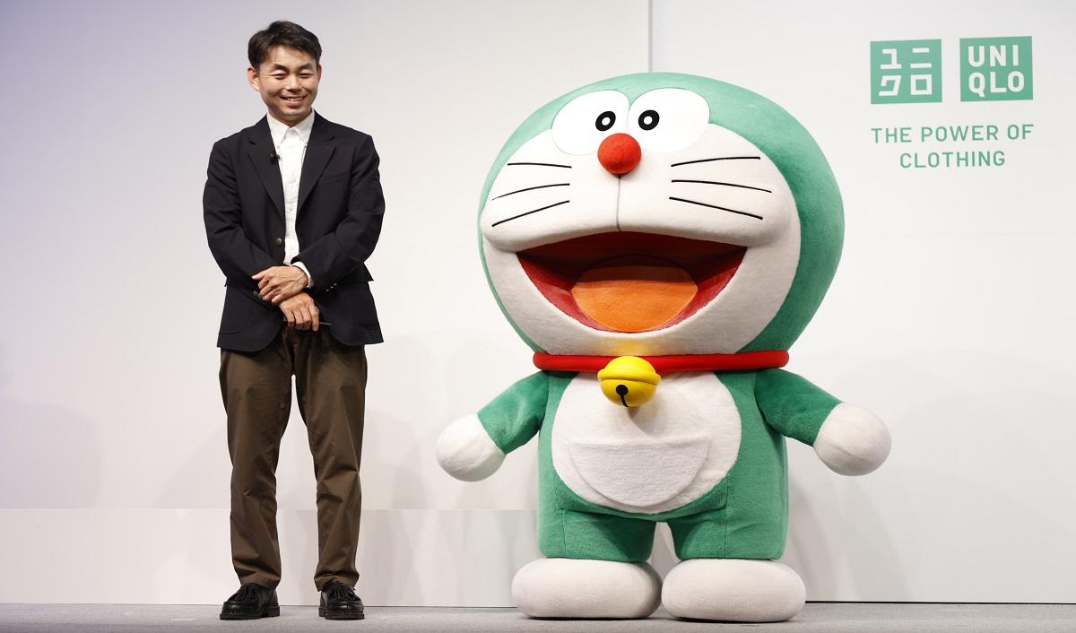 Doraemon Hijau jadi duta Uniqlo sebagai Global Sustainability Ambassador