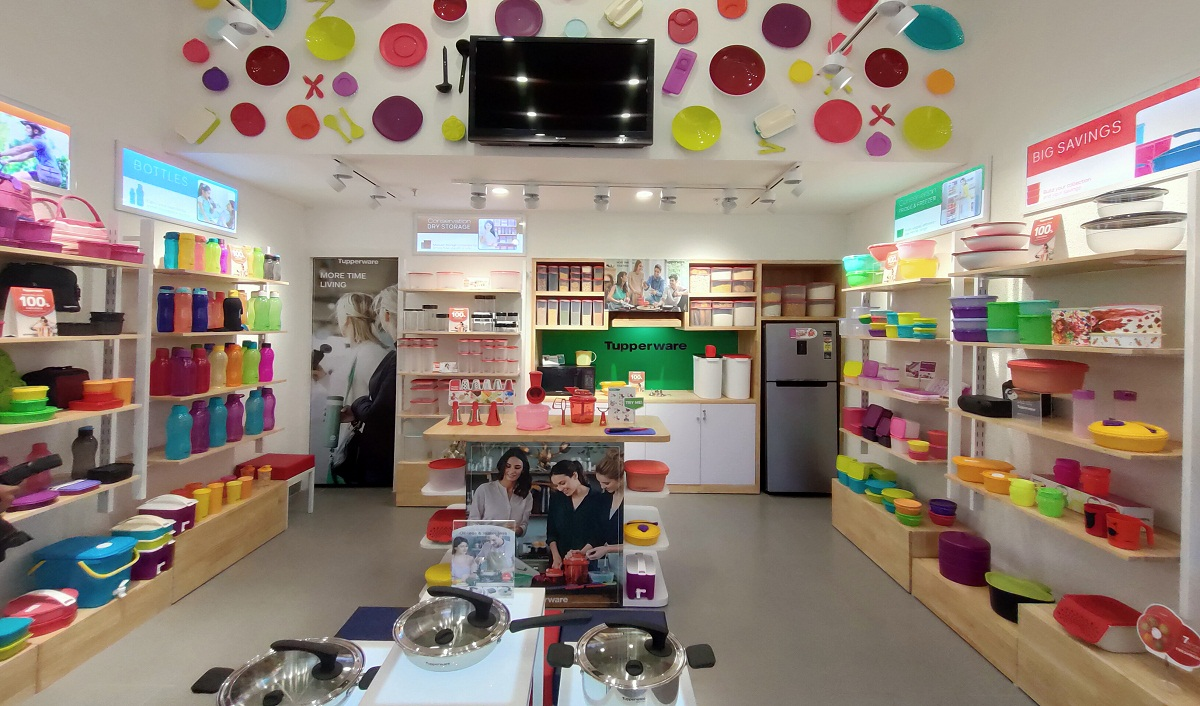 Tupperware India Continues Aggressive Expansion Spree; Opens 4 New Stores