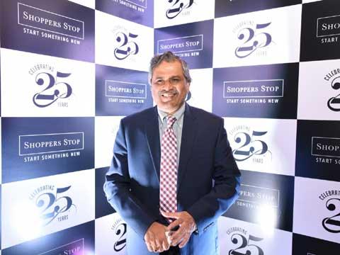 Govind Shrikhande, Customer Care associate & Managing Director, Shoppers Stop Ltd.