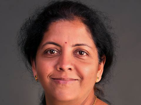 Nirmala Sitharaman, Minister of State (Independent Charge) for Commerce & Industry, Finance and Corp