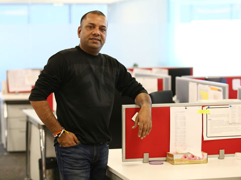 Ramesh Kaushik, VP (Brand Experience), Blackberrys