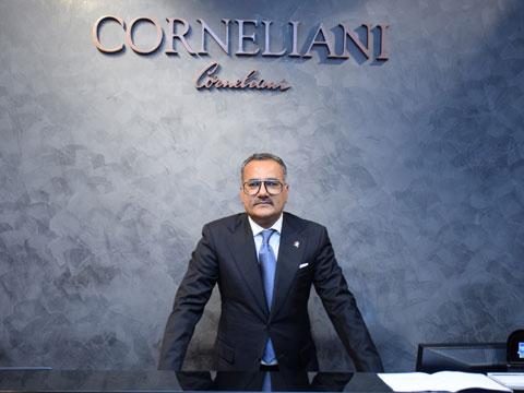 Salesh Grover, Business Head, OSL Luxury Collections Pvt. Ltd, Corneliani