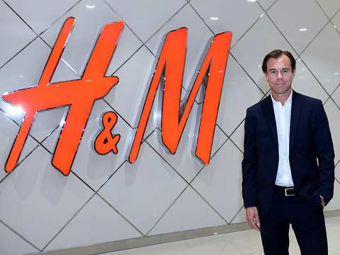 Karl-Johan Erling Goran Persson, CEO and president, H&M