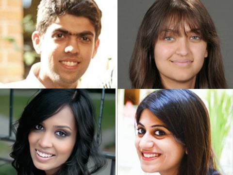 Ekansh Babbar, Stuti Bhageria, Vidisha Pasari and Nirali Vasisht, Founders, Rekinza