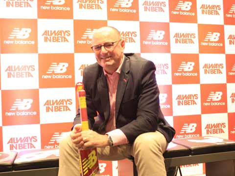 Darren Tucker, Vice President Asia Pacific, Middle East, India, New Balance