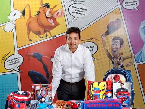 Abhishek Maheshwari, VP & Head, Consumer Products, Disney India