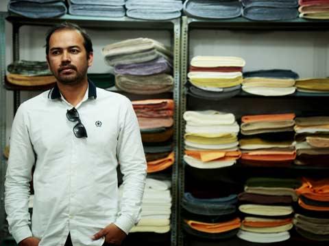 Udyan Singh, Founder, Banka Silk