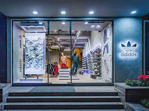 adidas originals 'fashion Destination Door' opens in Mumbai