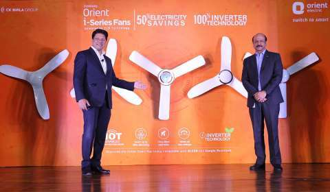 Orient Electric launches 50% energy saving and IoT-enabled inverter i-Series fans