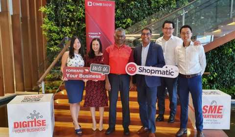 Shopmatic joins forces with CIMB Bank