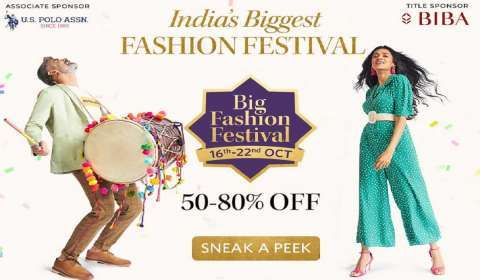 Myntra's 'Big Fashion Festival' clocks 100% growth on day one
