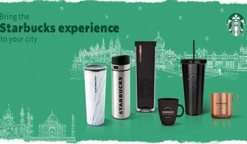 Tata Starbucks launches Merchandise Delivery Service on Flipkart