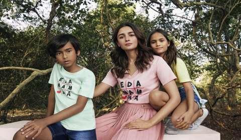 Alia Bhatt unveils kids' clothing brand 'Ed-a-Mamma'