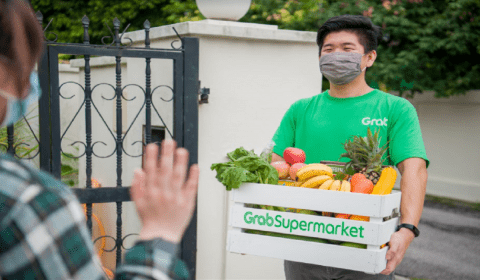 Grab's first delivery-only supermarket launched in Klang Valley