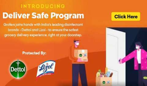 RB India, Grofers Partner to Deliver the Safest Grocery Delivery Experience