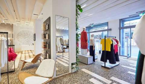 United Colors of Benetton Debuts Highly Sustainable Store Concept