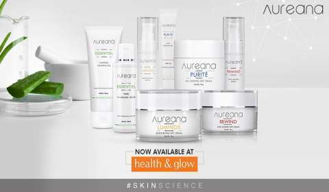 Skin Care Brand Aureana Partners with Health & Glow