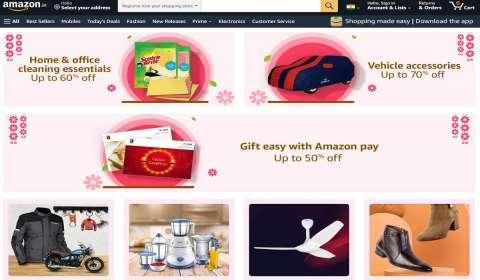 Amazon India Unveils Regional New Year Shopping Store