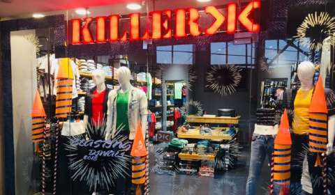 Clothing Brand Killer Ventures into Patna