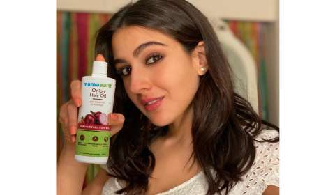 Sara Ali Khan to Endorse Mamaearth Hair Care Range