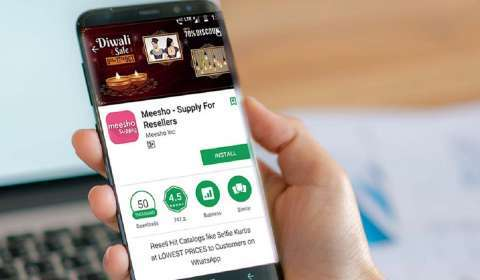 Meesho Raises Rs 2,200 cr in Funding Led by SoftBank