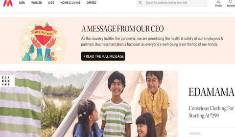 Myntra Brings Relief Measures for Brand Partners to Keep the Fashion Ecosystem Engine Running