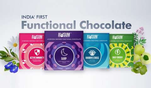 Ayurveda-Inspired Functional Chocolate Brand AWSUM Launched in India