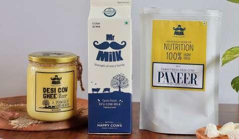 Mr. Milk Brings Farm-Fresh and Desi Cow Products to Mumbai