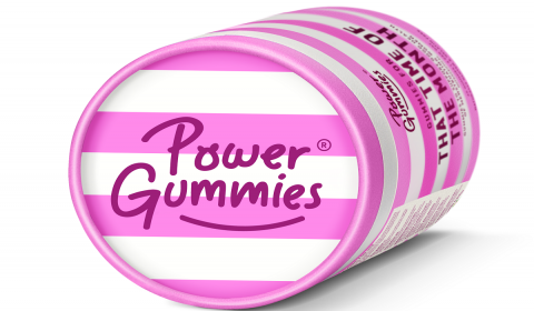 Power Gummies Expands Portfolio with 'That Time of The Month' Gummies