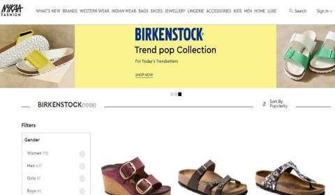 BIRKENSTOCK Now Available On Nykaa Fashion