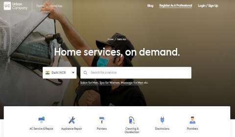 Urban Company to Drive Technological Innovation in Home Services Industry