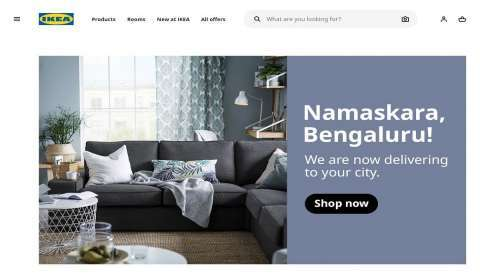 IKEA Enters Bengaluru with E-Commerce and Mobile Shopping App