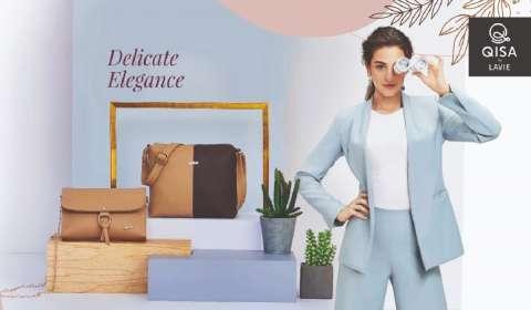 Handbag Brand Qisa by Lavie Ventures into Sustainable Fashion