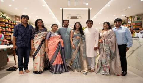 Kankatala Sarees Expands Footprint with 11th Store in Hyderabad