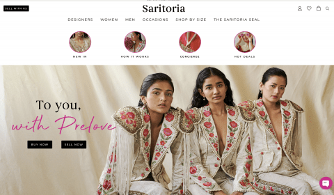 Global Platform for Pre-Loved South Asian Luxury Fashion 'Saritoria' Debuts in India
