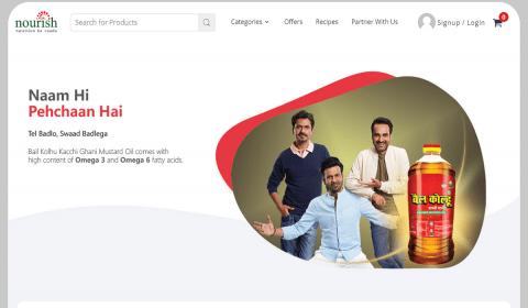 B.L. Agro Enters E-Commerce Space with 'NourishStore'