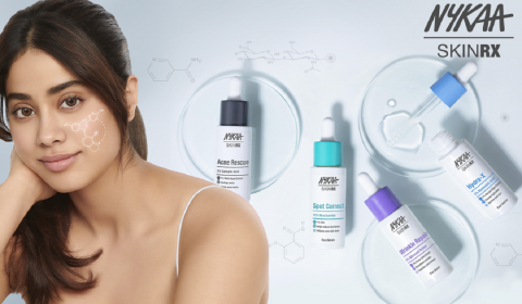 Nykaa Strengthens Skincare Range with the Launch of SKINRX