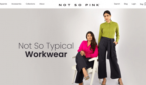 Soch Group Launched Body Positive Women's Workwear Brand, Not So Pink